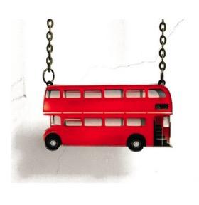 london bus pendant