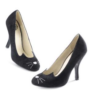 black cat heels
